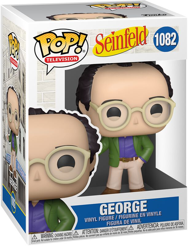 Seinfeld George Vinyl Figure 1082 (figuuri)