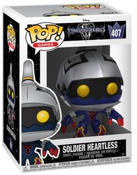 3 - Soldier Heartless Vinyl Figure 407 (figuuri)