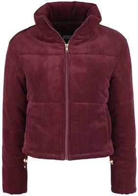 Ladies Corduroy Puffer Jacket talvitakki
