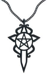 Pentagram Dagger Necklace