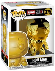 Marvel Studios 10 - Iron Man (Chrome) Vinyl Figure 375 (figuuri)