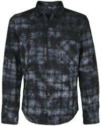Pitkähihainen paita batiikkivärjäyksellä