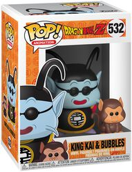 Z - King Kai and Bubbles Vinyl Figure 532 (figuuri)