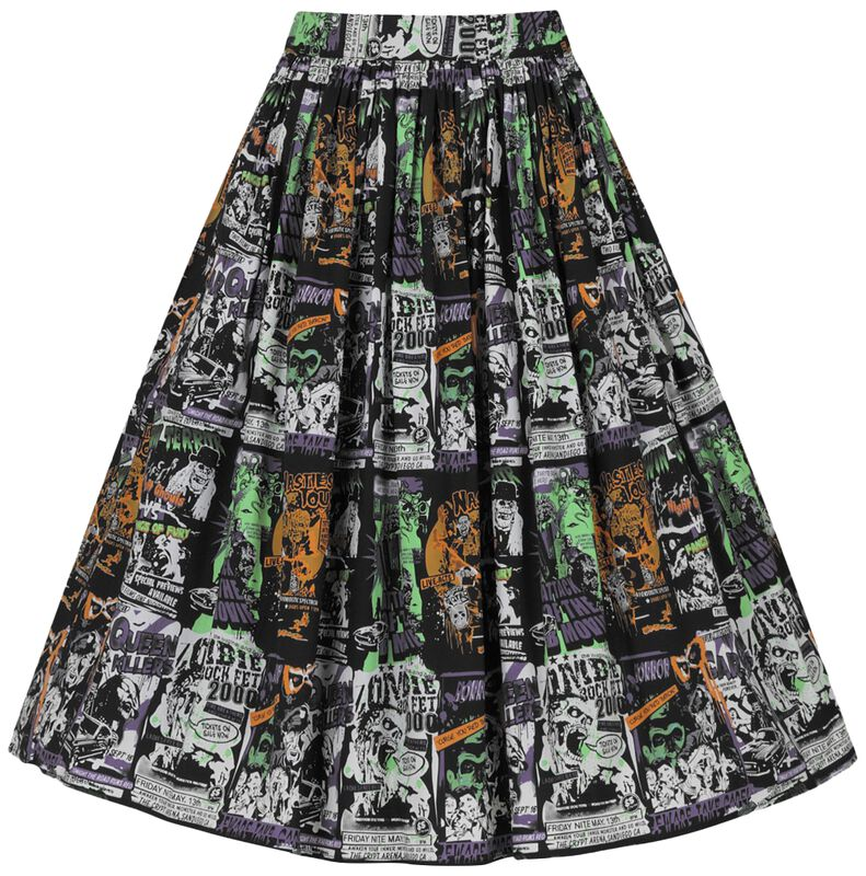 Be Afraid 50s Skirt