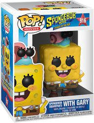 3 - Spongebob with Gary Vinyl Figure 916 (figuuri)
