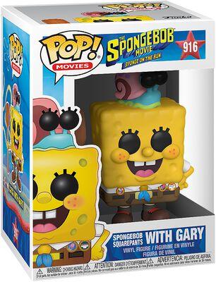 3 - Spongebob with Gary Vinyl Figure 916 (figuuri)