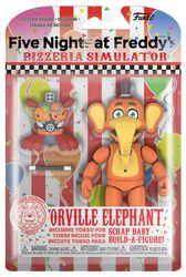 Pizza Simulator - Orville Elephant Action Figure (figuuri)