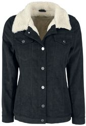 Cord Jacket with Berber Fleece