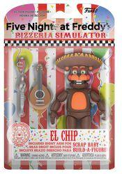 Pizza Simulator - El Chip Action Figure (figuuri)