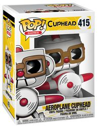 Aeroplane Cuphead Vinyl Figure 415 (figuuri)