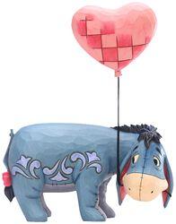 Eeyore with a Heart Balloon Figurine (figuuri)