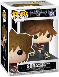 3 - Sora with Ultima Weapon Vinyl Figure 620 (figuuri)