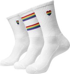 Pride Icons Socks 3-Pack sukat (3 kpl setti)