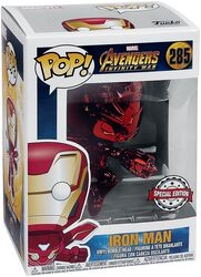 Infinity War - Iron Man (Red Chrome) Vinyl Figure 285 (figuuri)
