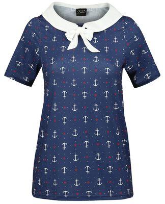 Sweet Anchors Collar Shirt