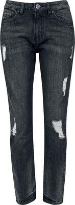 Ladies Boyfriend Denim Pants