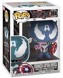 Venomized Captain America Vinyl Figure 364 (figuuri)