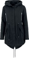 Ladies Sherpa Lined Cotton Parka talvitakki