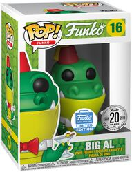 Fantastik Plastik - Big Al (Funko Shop Europe) Vinyl Figure 16 (figuuri)