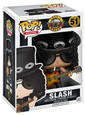 GN'R  Slash Rocks Vinyl Figure 51 (figuuri)
