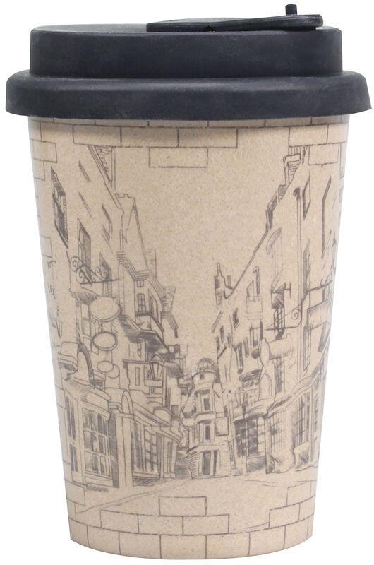 Diagon Alley - kannellinen kahvikuppi