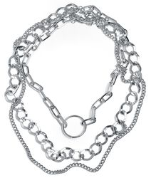 Ring Layering Necklace
