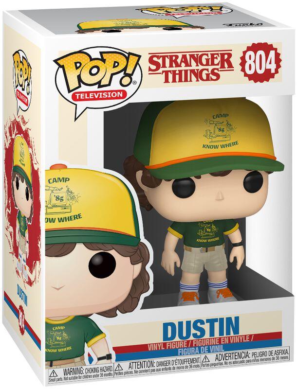 Season 3 - Dustin Vinyl Figure 804 (figuuri)