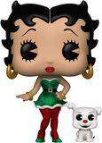 Elf Betty Boop and Pudgy (Funko Shop Europe) Vinyl Figure 505 (figuuri)