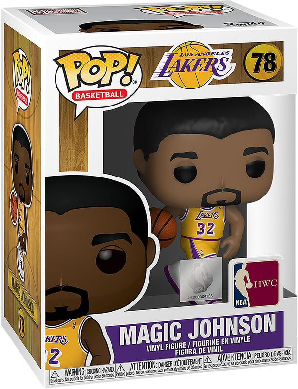 LA Lakers - Magic Johnson Vinyl Figure 78 (figuuri)