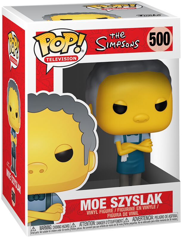 Moe Szyslak Vinyl Figure 500 (figuuri)