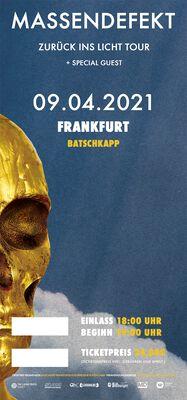 Zurück ins Licht - Frankfurt - 09.04.2021 - Batschkapp