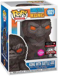 Kong with Battle Axe (Flocked) Vinyl Figure 1021 (figuuri)