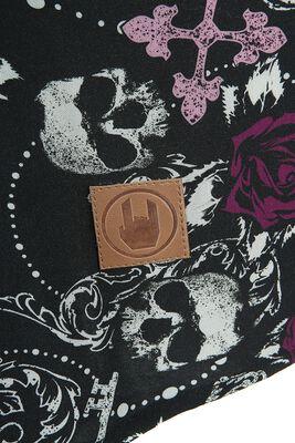 Pitkähihainen Black Premium -paita avonaisilla olkapäillä