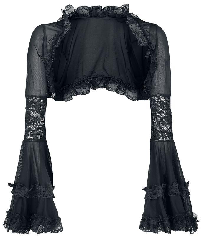 Gothic Bolero with Lace