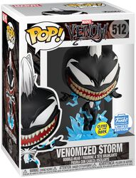 Venomized Storm (GITD) (Funko Shop Europe) Vinyl Figure 512 (figuuri)