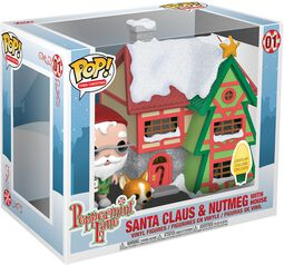 Holiday - Santas House with Nutmeg with House (Pop! Town) Vinyl Figure 01 (figuuri)