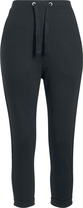 Ladies Open Edge Terry Turn Up Pants collegehousut