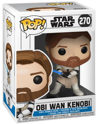 Clone Wars - Obi Wan Kenobi Vinyl Figure 270 (figuuri)