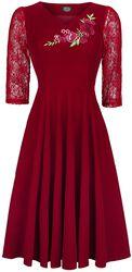 Divine Vlevet Swing Dress