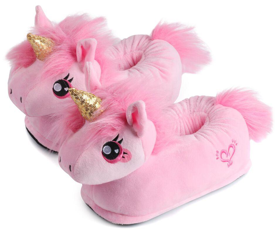 Pink Unicorn Kids' Slippers