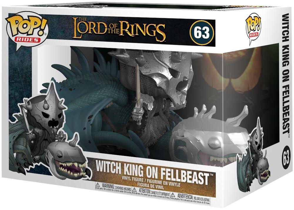 Witch King on Fellbeast (Pop Rides) Vinyl Figure 63 (figuuri)