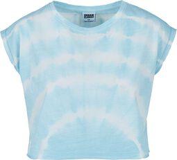 Ladies Short Tie Dye Tee T-paita