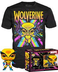 Black Light - Wolverine POP!-figuuri & T-paita