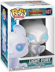3 - Light Fury Vinyl Figure 687 (figuuri)