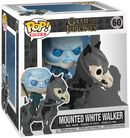 Mounted White Walker POP Rides Vinyl Figure 60 (figuuri)