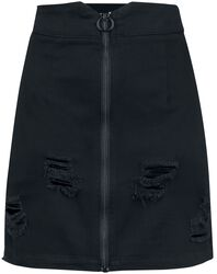 Trashed & Ragged Skirt