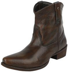 Musta-harmaat cowboy-bootsit
