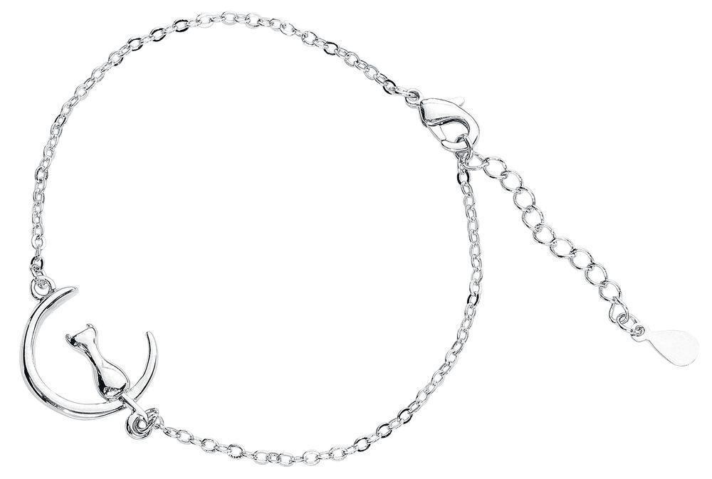 Moon Cat Bracelet