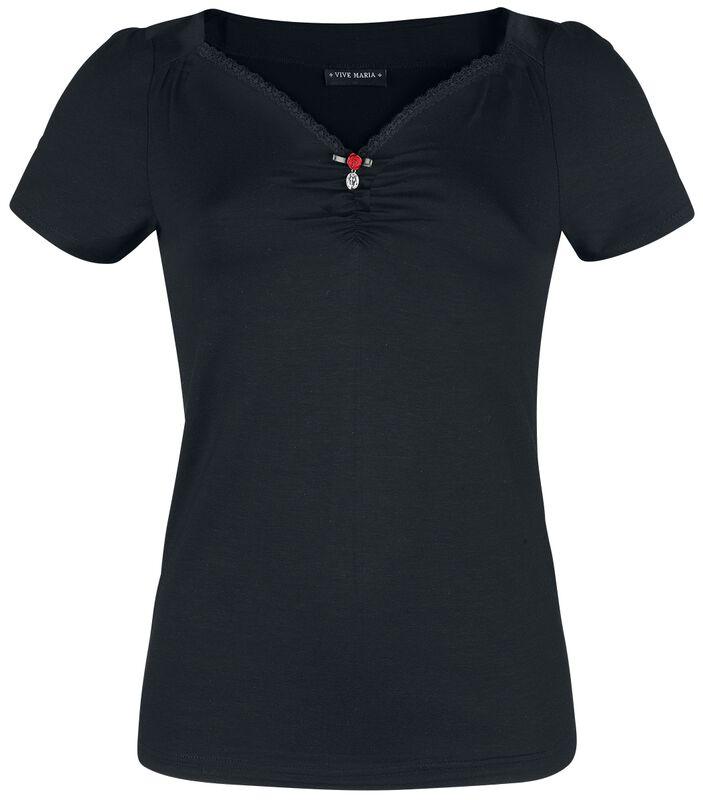Black Lilly Shirt