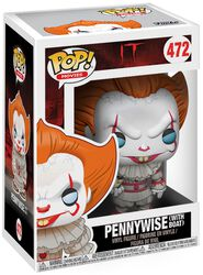 Pennywise (with Boat) (Chase is possible) Vinyl Figure 472 (figuuri)